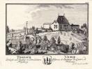 Vaulruz: Vauruz Château et Baillage du Canton de Fribourg Thalbach Schloss und Vogtey in dem Canton Freyburg.. Vaulruz. - HERRLIBERGER, David sc. ...