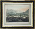 Stans. (Stanz) Capitale du Canton Unterwalden contre le Rigui (sic).. THOMANN, H.(1748-1794), dessiné et gravé par :