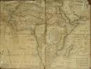 Afrique selon les Relations les plus nouvelles. Dressée sur les memoires du S.r de Tillemont divisée en tous ses Royaumes et grands Etats avec un ...