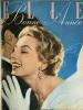Elle. Magazine de mode. N° 472 - 485 - décembre 1954 - Bonne Année..