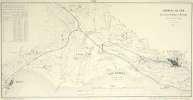 Carte des Chemins de Fer Lausanne, Morges, la Venoge et de Lausanne à Vevey'.. PICCARD, Jules F.: