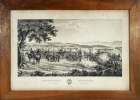 Artillerie Vaudoise au camp de Bière.. HUGUENIN-PANCHAUD dess.: