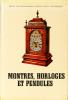 Montres, horloges et pendules. Traduit de l'allemand par Richard Walter. Deuxième édition française.. BASSERMANN-JORDAN, Ernst von: