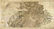 ANNECY. (Carte de la Haute-Savoie, feuille 160). 4 x 12 éléments..