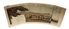 Panorama des casernes de Lausanne, établi par les soins de la Société des amis de la Pontaise, dessiné d'après nature par Ed. Combe ingénieur, . ...