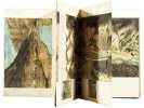 Panorama della Strada-Ferrata delle Alpi Cozie Moncenisio. Großformatiges Panorama (ca. 453:25 cm) der 1871 eröffneten Mont-Cenis-Bahn von Modane in ...