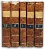 Abrégé de l'histoire ancienne de Monsieur Rollin, par l'Abbé Tailhié, Prêtre. Nlle Ed.. Rev., corr. et augm. par l'auteur. En 5 volumes.. ROLLIN; ...
