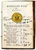 Empreintes poids et valeur de Piémont et de France des monnoies d'or et d'argent qui ont cours dans le Piémont d'après les lois en vigueur depuis les ...