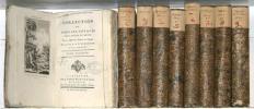Collection de tous les voyages faits autour du monde. Par les différentes Nations de l'Europe. Rédigée par M. Bérenger. En 9 volumes, complète.. ...