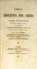 Essai sur les Girouettes, épis, crêtes et autres décorations des anciens combles et pignons pour faire suite à l'histoire des habitations au ...