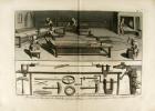 Horlogerie. 68 planches gravées par Benard d'après Fossier. Tirée del'édition originale de 'L'Encyclopédie Méthodique'.. DIDEROT, Denis & ALEMBERT, ...