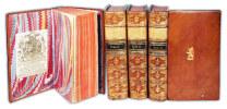 Dictionnaire des livres opposés à la morale de la société des soi-disant Jésuites. Complet en 4 vols. . COLONIA, Dominique de (1660-1741):