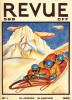 SBB Revue CFF, Swiss Federal Railways. N° 1 Sport d'Hiver. Anonyme. -