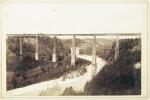 Pont de Grandfey. (en fer, avant le betonnage (Eisenbahnbrücke). LORSON, E. (photographe):