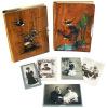 2 albums photogr. de la fam. Grosjean.. Grosjean, famille. -