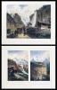 Erinnerung an die Schweiz  /  Souvenir de la Suisse  /  Souvenir of Switzerland. 54 Stahlstichansichten, davon 3 handkoloriert.. ROHBOCK, L. (del.) / ...
