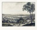 Zurich. Prise depuis la Weid, côté du Nord. - Gravure sur acier originale.. WINTERLIN (del.) & WEBER, L. (sc.):