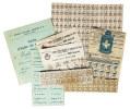 Canton de Fribourg. - Cartes de ravitaillement 1918-1919..