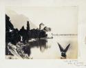 Alpes suisses. - 3 feuilles tirées d'un ancien album photo anglais, avec 11 photographies touristiques originales..