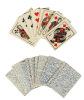 Ancien jeu de 32 cartes françaises miniature..