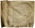 Morat / Murten. - Parchemin de 1610: Contrat de vente d'une maison en ville de Morat et de terres à un bourgeois de Berne..