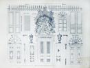 Album de Menuiserie. - Ensemble de 32 documents et tables gravées,. LEFEVRE-CHAUVEAUX, Alphonse: