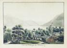 Vue du Village de Brientz.. WEIBEL, Samuel (1771-1846):