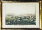 Vue du Village de Munsigen.. WEIBEL, Samuel (1771-1846):