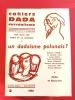CAHIERS DADA SURREALISME. N°2 1968 : Un dadaïsme polonais?  Sur Jean Arp . Dada et la musique. . ASSOCIATION INTERNATIONALE POUR L'ETUDE DE DADA ET DU ...