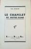 LE CHAPELET DE NOTRE-DAME. . ESCALLIER, EMILE.