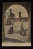 Carte postale ancienne : Biskra - Oasis de Tillièche - La Place. Collectif
