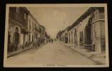 Carte postale ancienne : Jemmapes (Algérie) - Rue Négrier. Collectif