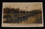 Carte postale ancienne : Les inondations de Paris, janvier 1910 - Esplanade des Invalides : Passerelle construite par le Génie militaire. Collectif