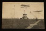 Carte postale ancienne : Grande semaine d'aviation de Lyon - Molon et Chavez luttant de vitesse. Collectif
