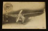 """""""Carte postale ancienne : Souvenir d'aviation - Le """"""""Blériot"""""""" de Roger Morin et son mécanicien Malgras"""". Collectif"""