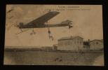 Carte postale ancienne : Lyon - Aviation - Latham (Monoplan Antoinette) en plein vol. Collectif