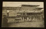 Carte postale ancienne : Grande semaine d'aviation de Lyon - Paulhan sur son Biplan Farman. Collectif