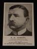 Carte postale de la Librairie Plon représentant l'explorateur S. A. Andrée. Collectif