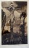 Héliogravure : Le Christ et les deux Larrons, de Gustave Moreau. Moreau Gustave