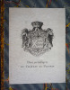 Annuaire de la noblesse de France (1893). Borel d'Hauterive M., Révérend Albert Vte