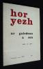 Hor Yezh (Niv. 81a) : Ur galedenn a zen. Ar Gow Yeun