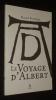 Le Voyage d'Albert. Benguigui Manuel