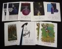 Lot de 9 publicités pour les parfums WORTH (dont 2 en double). Collectif