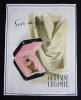 Publicité pour le parfum Soir de Fête, de Germaine Lecomte. Collectif