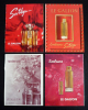 Lot de 4 publicités pour les parfums LE GALION. Collectif