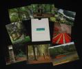 Domaine de Kerguehennec (8 cartes postales). Collectif