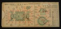 Abaque ou réglette D.R.P.A.C : Tableau de graissage de l'EBR Mle 51, Type 54. Collectif