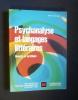 Psychanalyse et langages littéraires . Le Galliot Jean