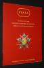Piasa - Soldats de plomb, ordres de chevalerie, décorations, armes et souvenirs historiques (Drouot Richelieu, 30 mai 2008). Collectif