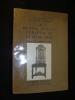 Le Meuble anglais période de la reine Anne. Blake J.-P., Reveirs-Hopkins A.-E.